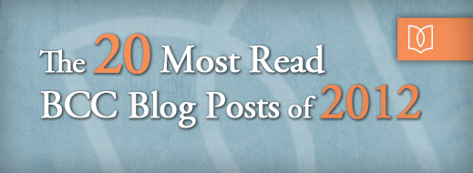 20 Most Read BCC Blog Posts of 2012