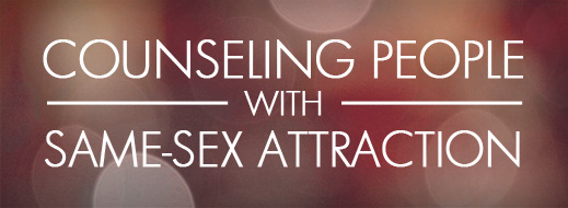 Counseling same sex attraction
